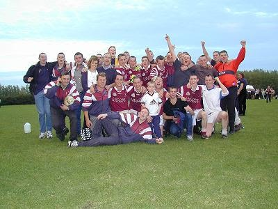 Players & supporters celebrate All Ireland win!