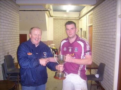 Gary McKee Mid Armagh Cup Winners