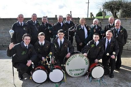 Joe McKelvey Pipe Band